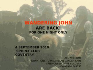 Wandering John