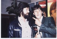 Colin Richardson interviewing Paul   McCartney at Abbey Road
