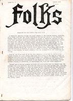 Folks Mag No1