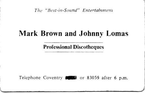 Mark Brown Disco