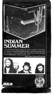 Indian Summer advert