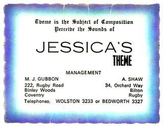 Jessicas Theme card