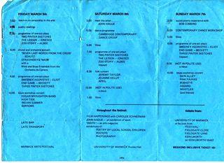 Warwick University Arts Fest 1971 (2)