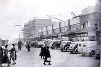 Coventry's Woolworth in construction 1953