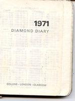 Diary 1971