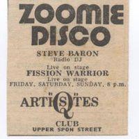Q Artistes - Zoomie Disco ad 004