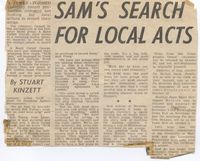 SAM (Sunshine Agency) from Cov Eve Telegraph 1974