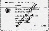 Warwick University Arts Fest