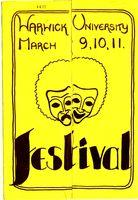 Warwick University Arts Fest 1973