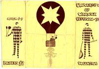 Warwick University Arts Fest 1975