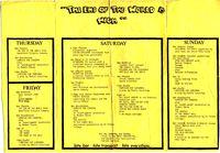 Warwick University Arts Fest 1975 (2)
