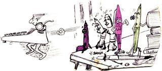 John Alderson cartoon for Hobo 74