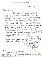 Medusa Letter