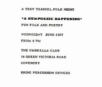 Humpoesic Happening 1 1972