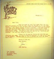 Streetpress letter