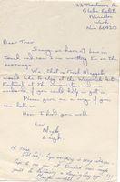Fresh maggots letter