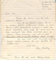 Gray Buckley letter