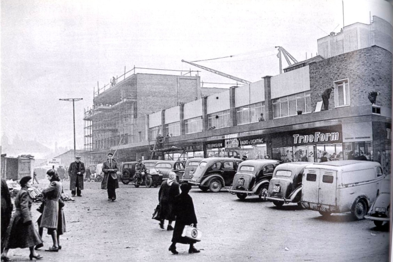 Covnetry's Woolworth in construction 1953 (1)
